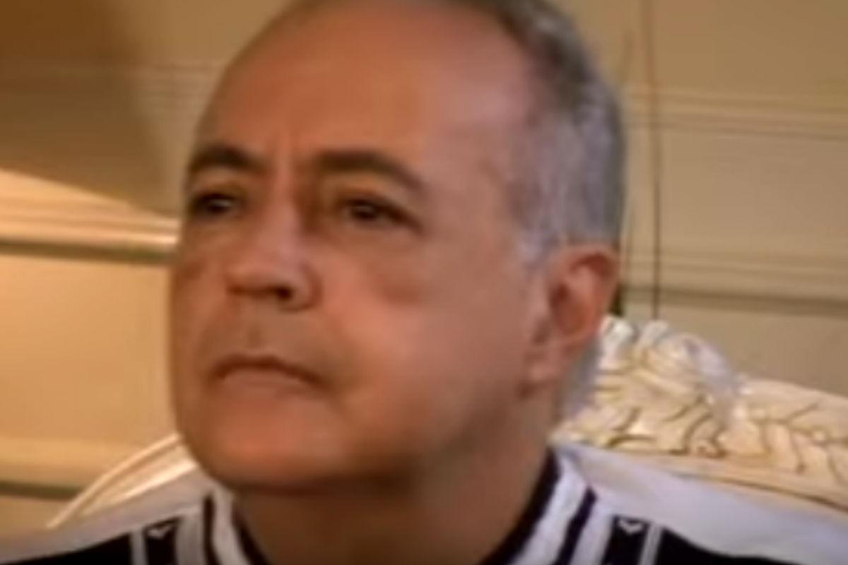Imagen de José Luis Moreno durante la rueda de prensa que dio tras sufrir una brutal paliza en 2007.
