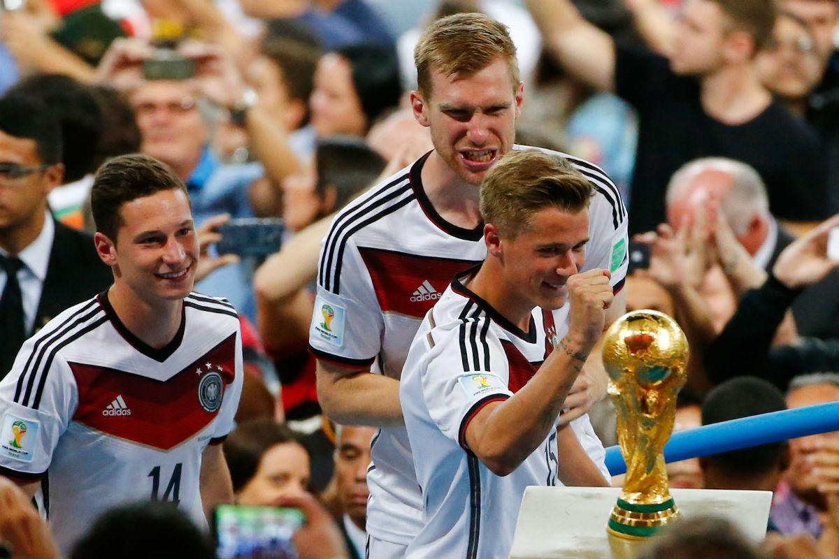 Alemania, ganador del Mundial de Brasil, también es favorito al título en la Eurocopa. (Getty)