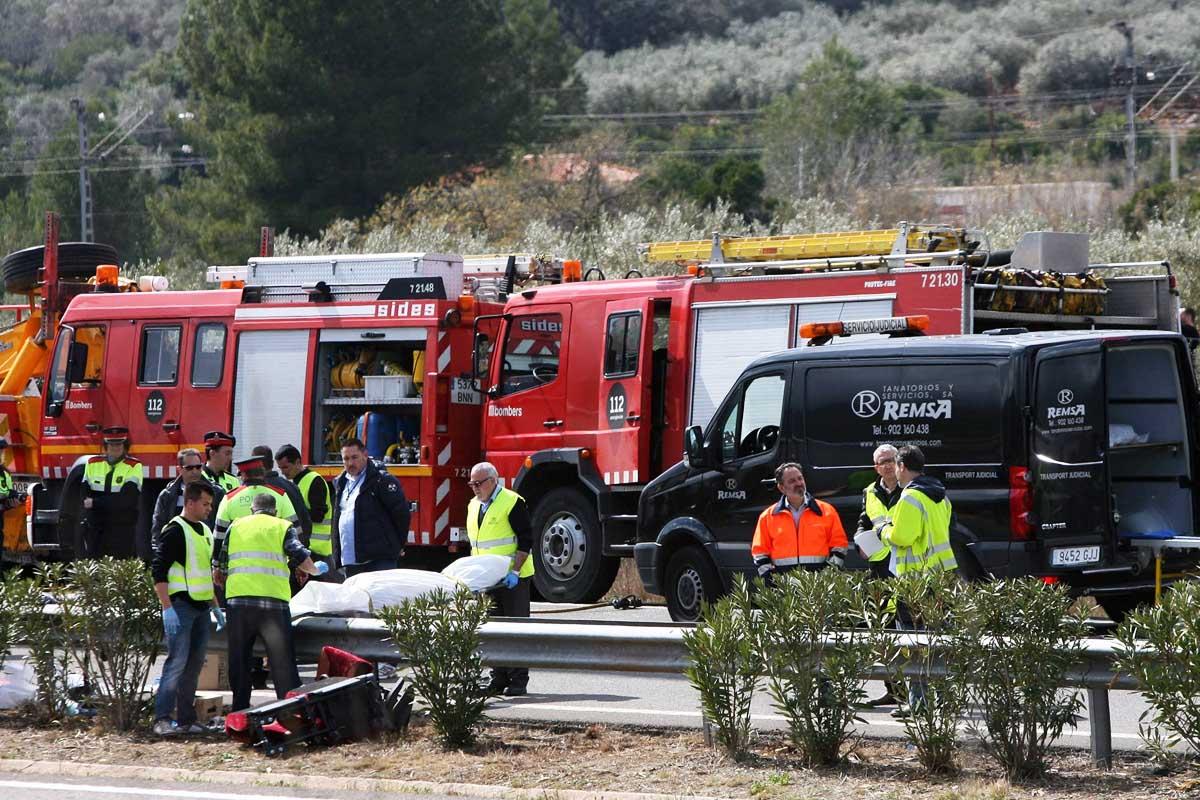 Servicios de asistencia trabajan sobre el terreno (Foto: EFE)