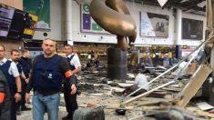 Aeropuerto de Bruselas, escenario de uno de los ataques del 22M. (Foto: @myrevolutionrus)