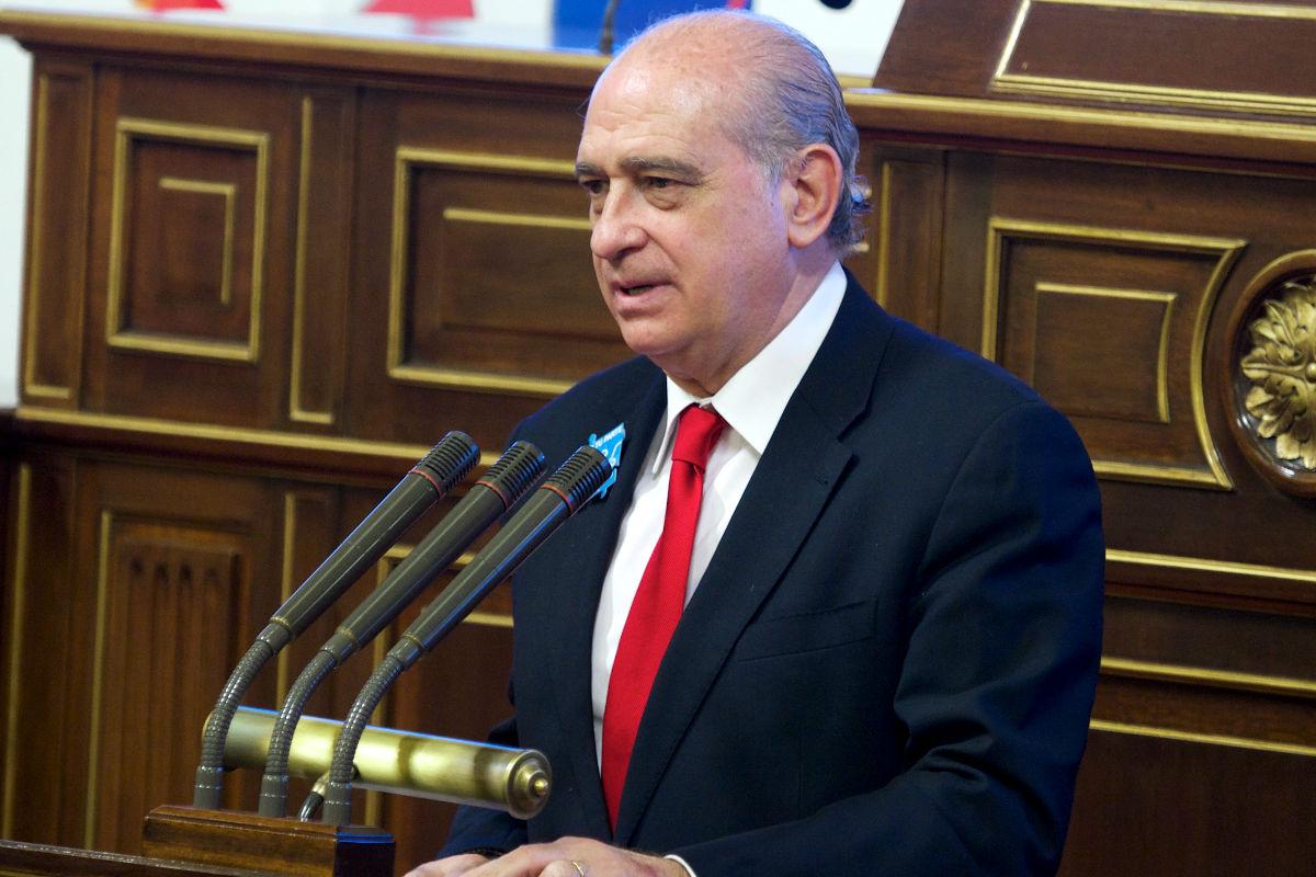 Imagen del Ministro del Interior, Jorge Fernández Díaz. (Getty)