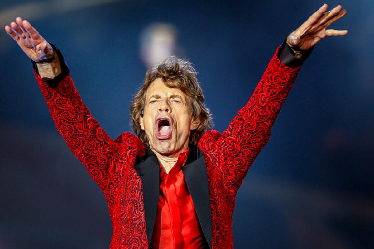 El cantante Mick Jagger en uno de sus últimos conciertos. (Getty)