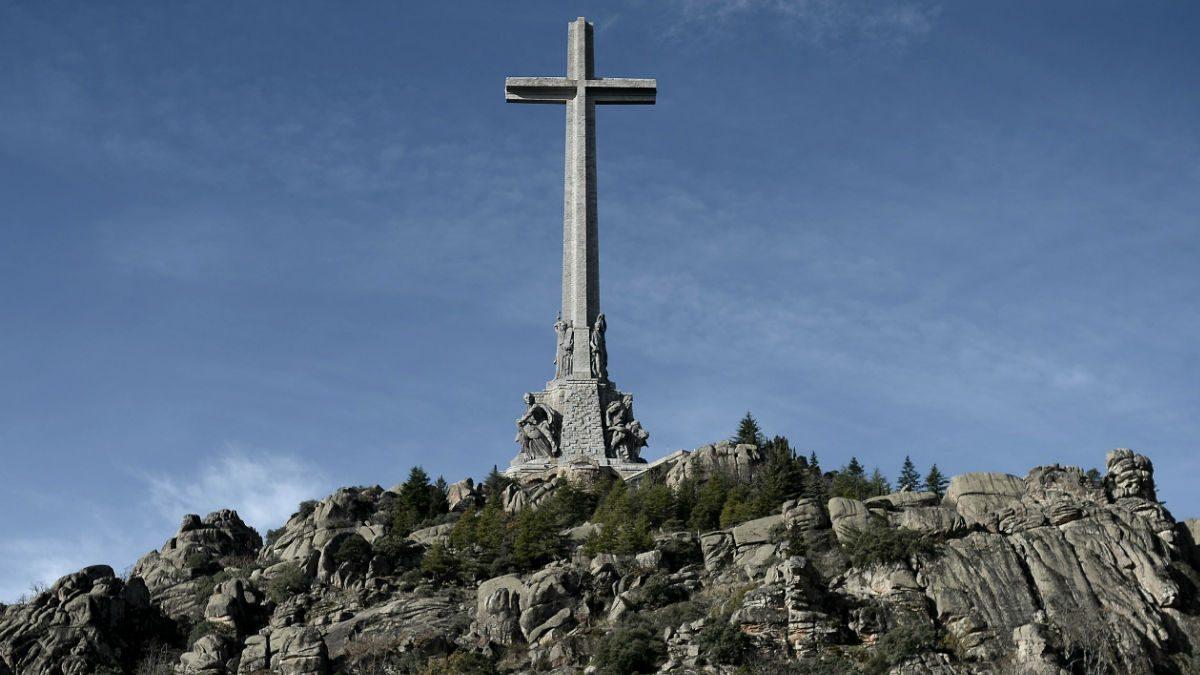 Imagen del Valle de los Caídos en El Escorial, Madrid. (Getty)