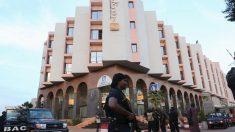 Hotel Radisson Blu que sirve como base militar de la Unión Europea (Foto: Reuters)