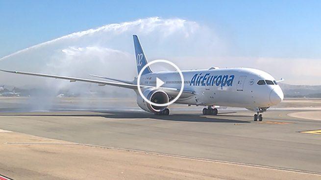 Primer Boeing 787 Dreamliner de Air Europa (Foto: GLOBALIA).