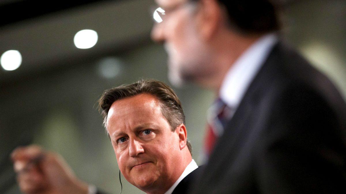 El primer ministro birtánico, David Cameron, y Mariano Rajoy (Foto: GETTY).