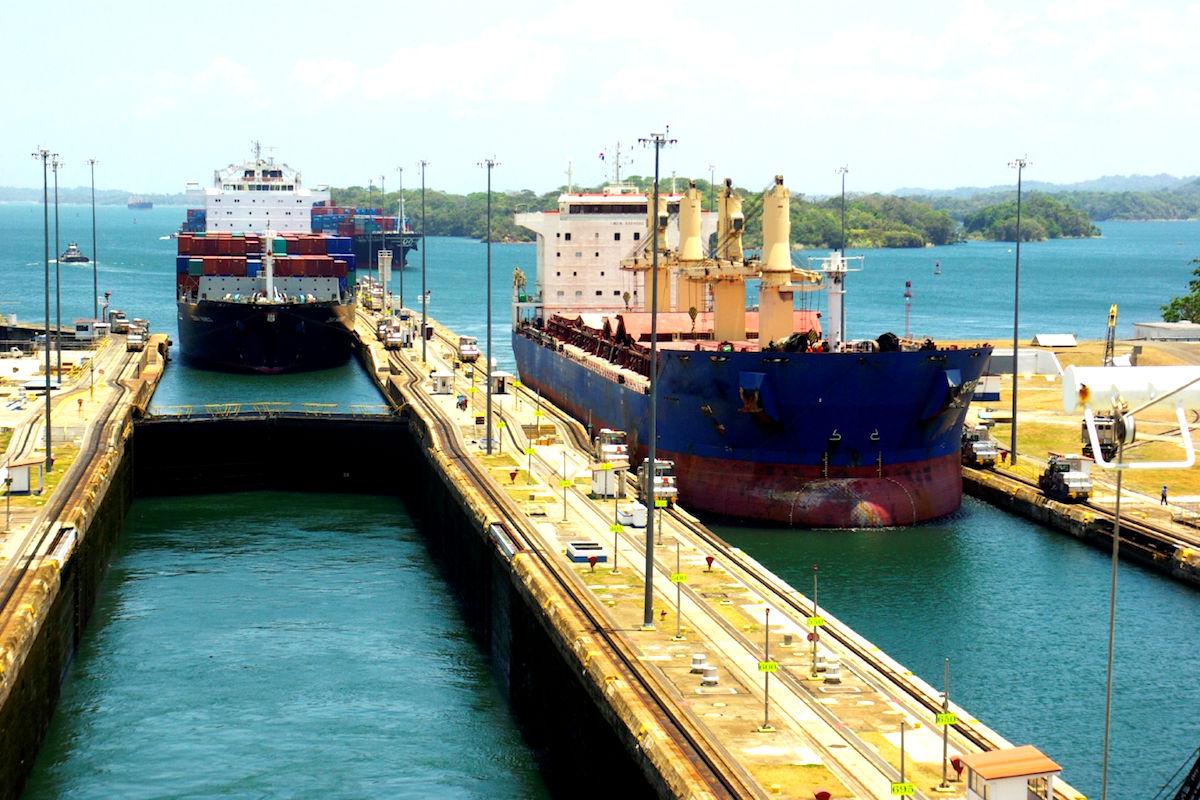 El Canal de Panamá.