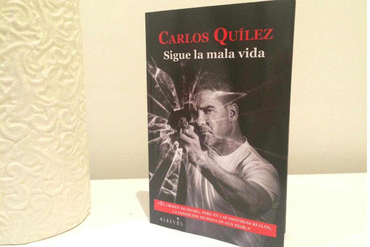 La última novela de Carlos Quilez, publicada este mes, narra once casos criminales que el periodista ha investigado de primera mano.