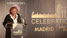 Carmena preestrenando los cuestionados premios IIFA. (Foto: GETTY)