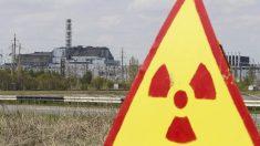 Sarcófago nº 4 en la central de Chernobyl (Foto: Reuters)