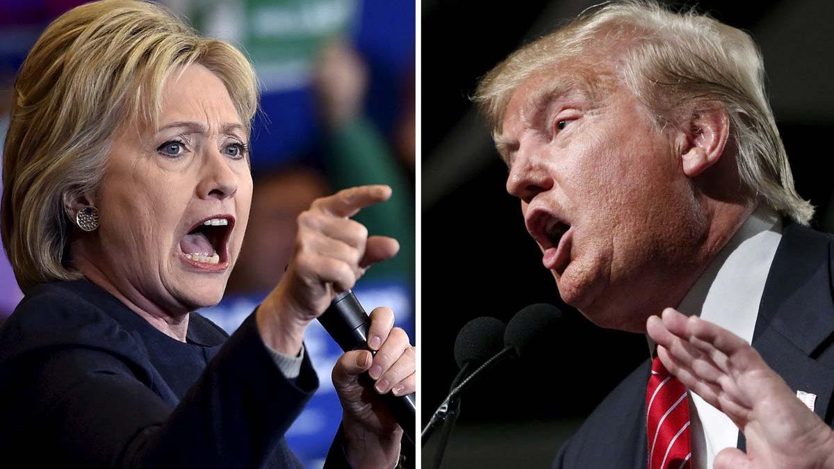 Hillary Clinton y Donald Trump, candidatos demócrata y republicano a la Casa Blanca. (Fotos: Reuters)