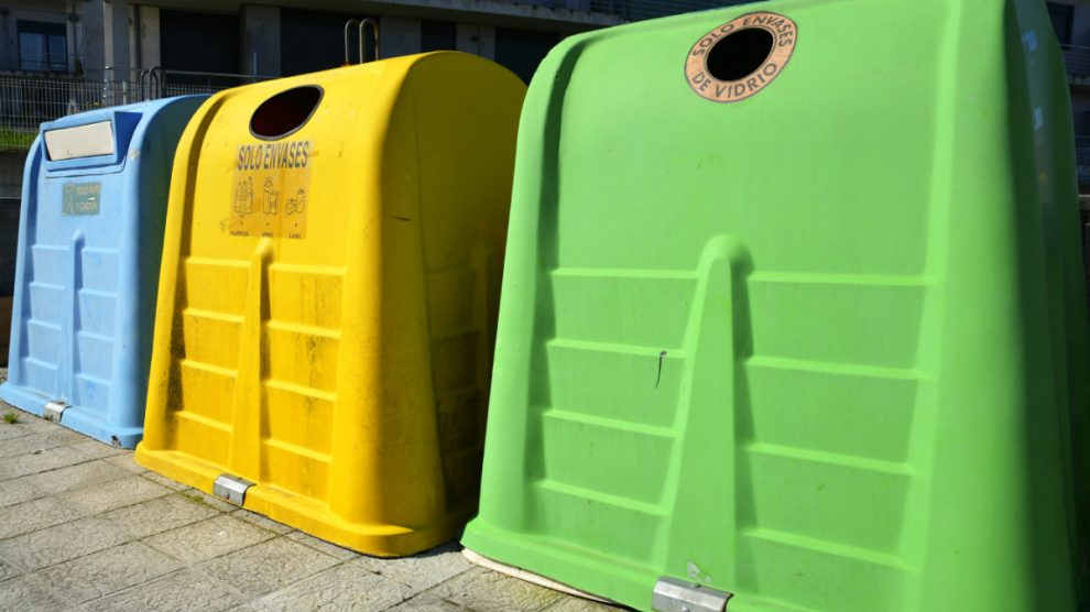 Contenedores de reciclaje (Foto: GETTY/ISTOCK).