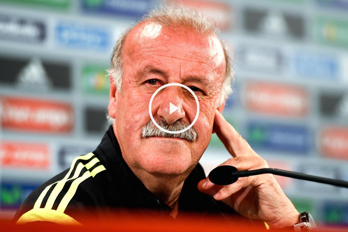 Vicente del Bosque no pudo hacer debutar a Sergio Rico. (AFP)