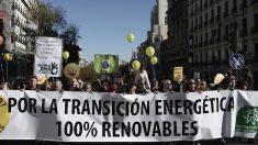 Ecologistas en Acción manifestándose en Madrid. (Foto de archivo: AFP)
