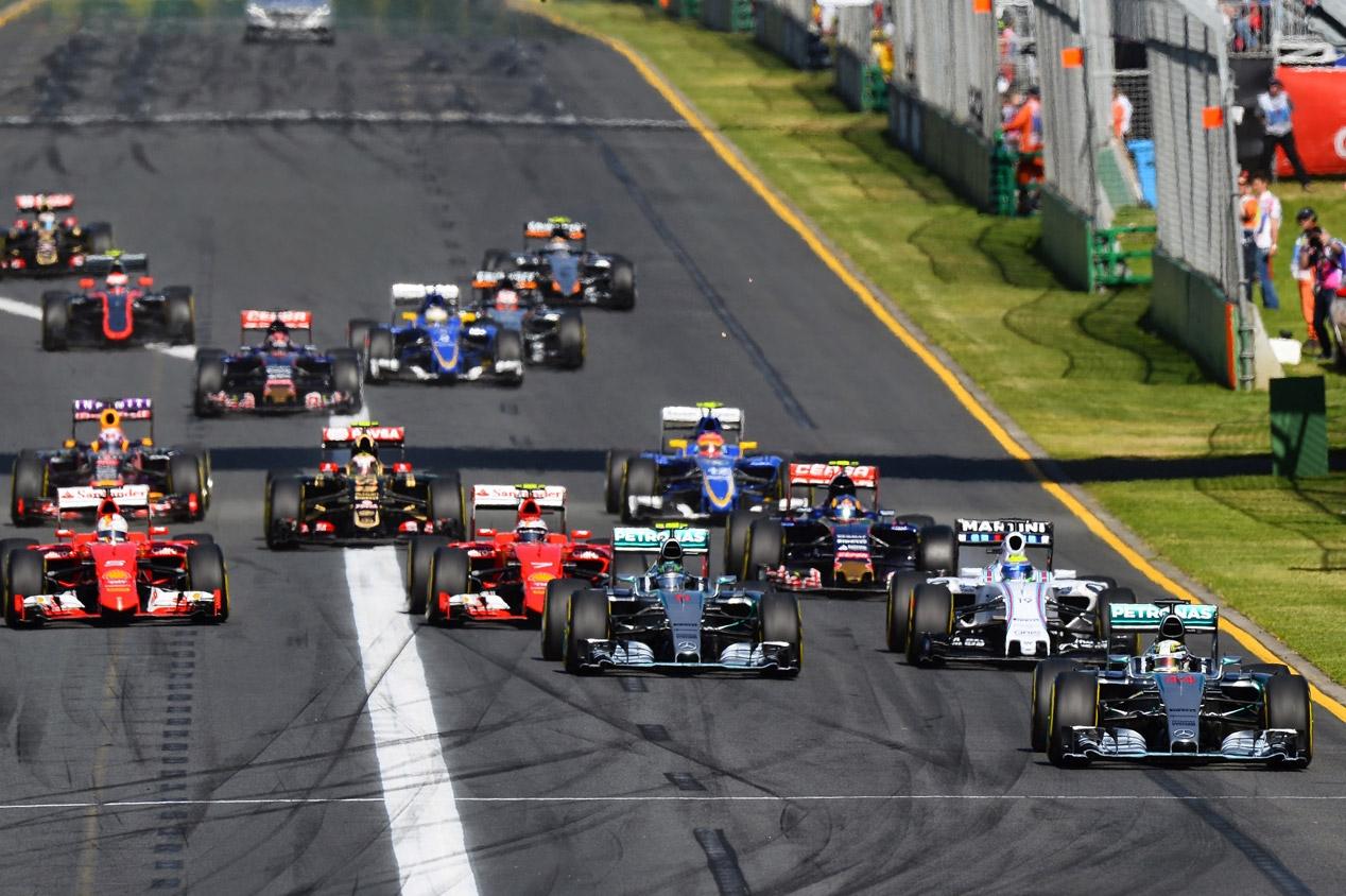 Salida del GP de Australia 2015 (Getty)