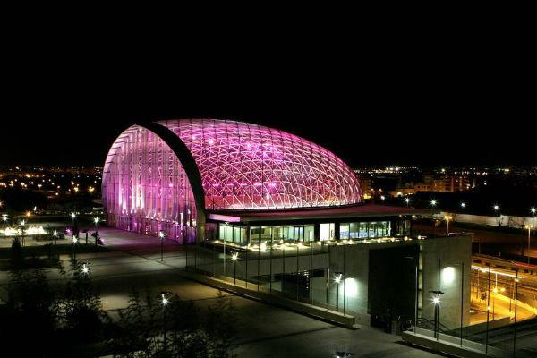 El recinto de muestras de Feria Valencia