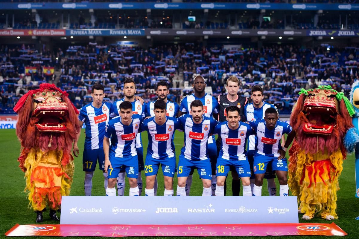 El once titular del Espanyol ante la Real Sociedad