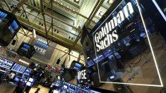Cartel de Goldman Sachs en Wall Street. (Foto: Reuters)