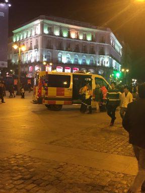 La Puerta del Sol desprovista de Policía Municipal