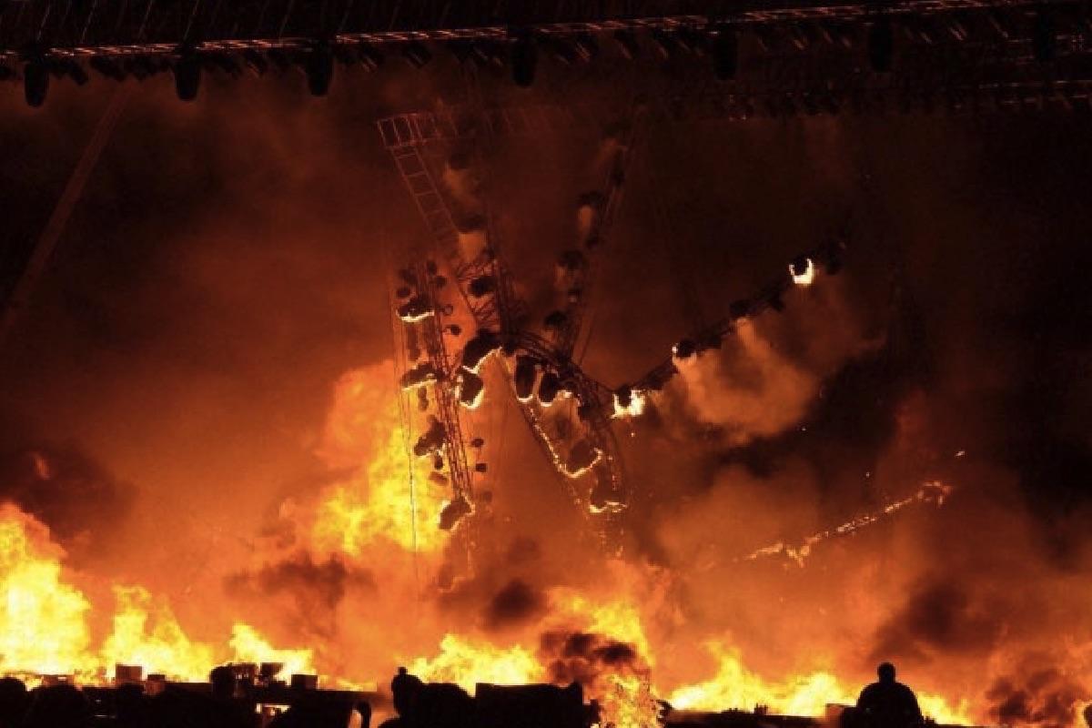 Incendio de la empresa india Wizcraft.