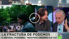 Eduardo Inda y Rafa Mayoral en La Sexta Noche