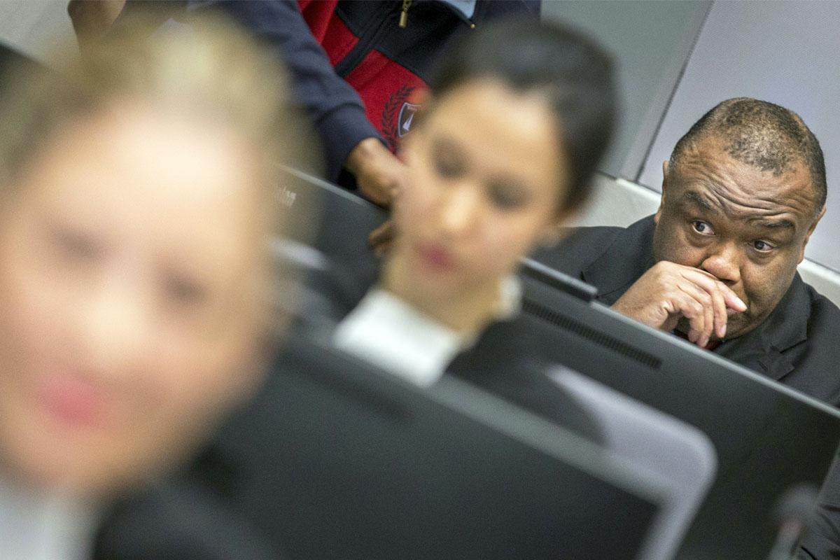 Jean-Pierre Bemba. (Foto: AFP)