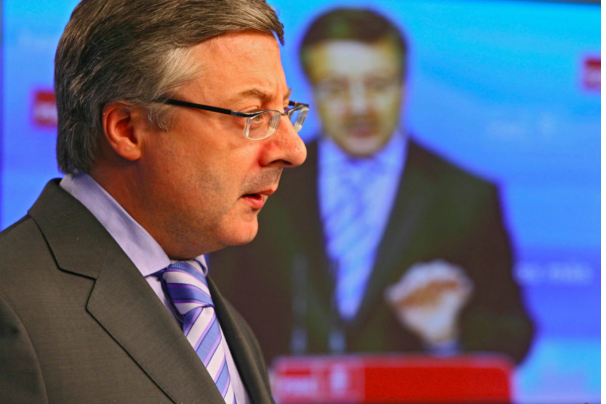 El exministro y eurodiputado socialista, José Blanco. (Foto: EFE)