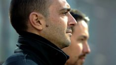 Luis Alegre y Pablo Iglesias. (Foto: Getty)