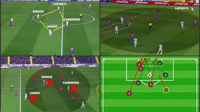 Así jugó el Real Madrid: Lucas desbordó y Cristiano remató