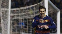 Messi vive su mejor momento de la temporada tras conseguir tres tantos en Vallecas. (Getty)