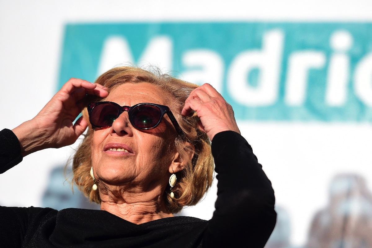 Manuela en un acto de campaña. (Foto: GETTY)