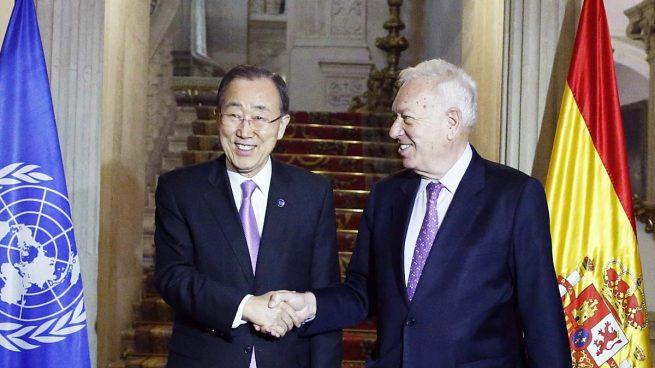 Margallo ofreció a Ban Ki-moon la participación española en la pacificación de Colombia