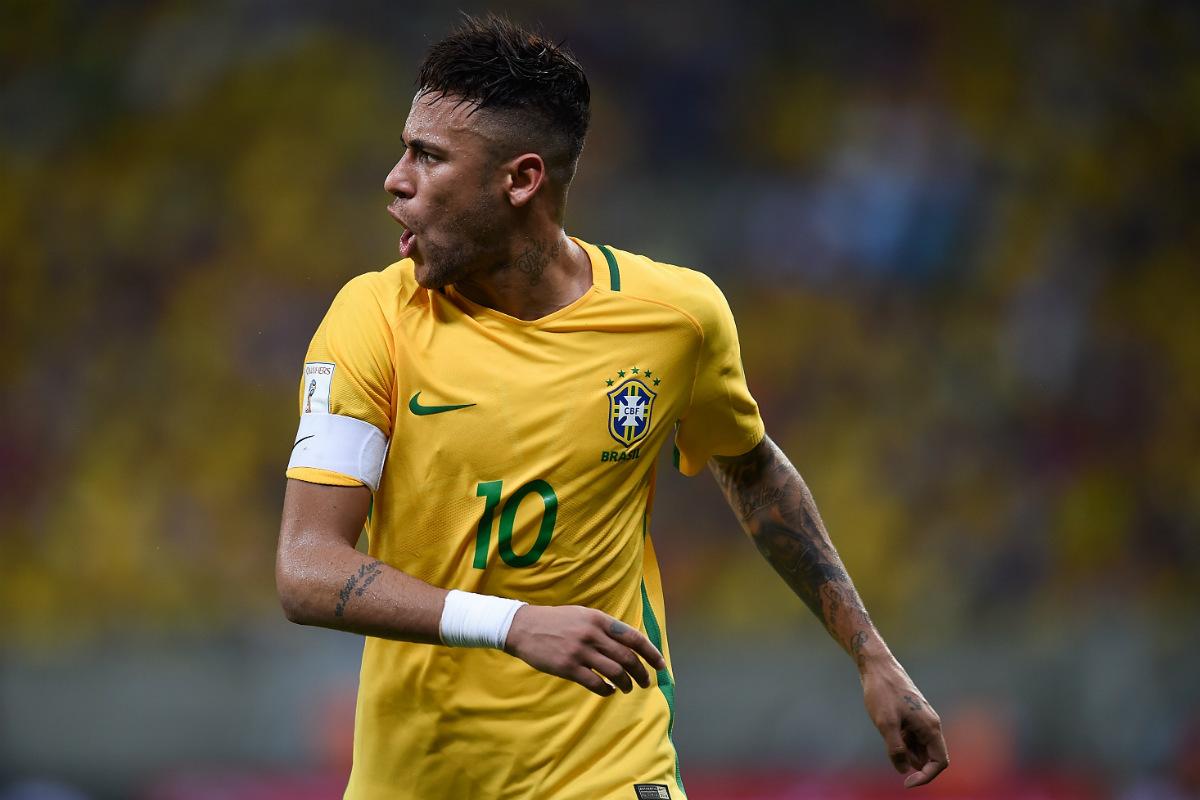 Neymar, otro titular del Barcelona que deja su selección antes de tiempo. (Getty)
