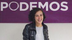 Nagua Alba, al frente de Podemos en el País Vasco. (Foto: Twitter)