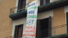 Edificio okupa en el Barrio de El Raval