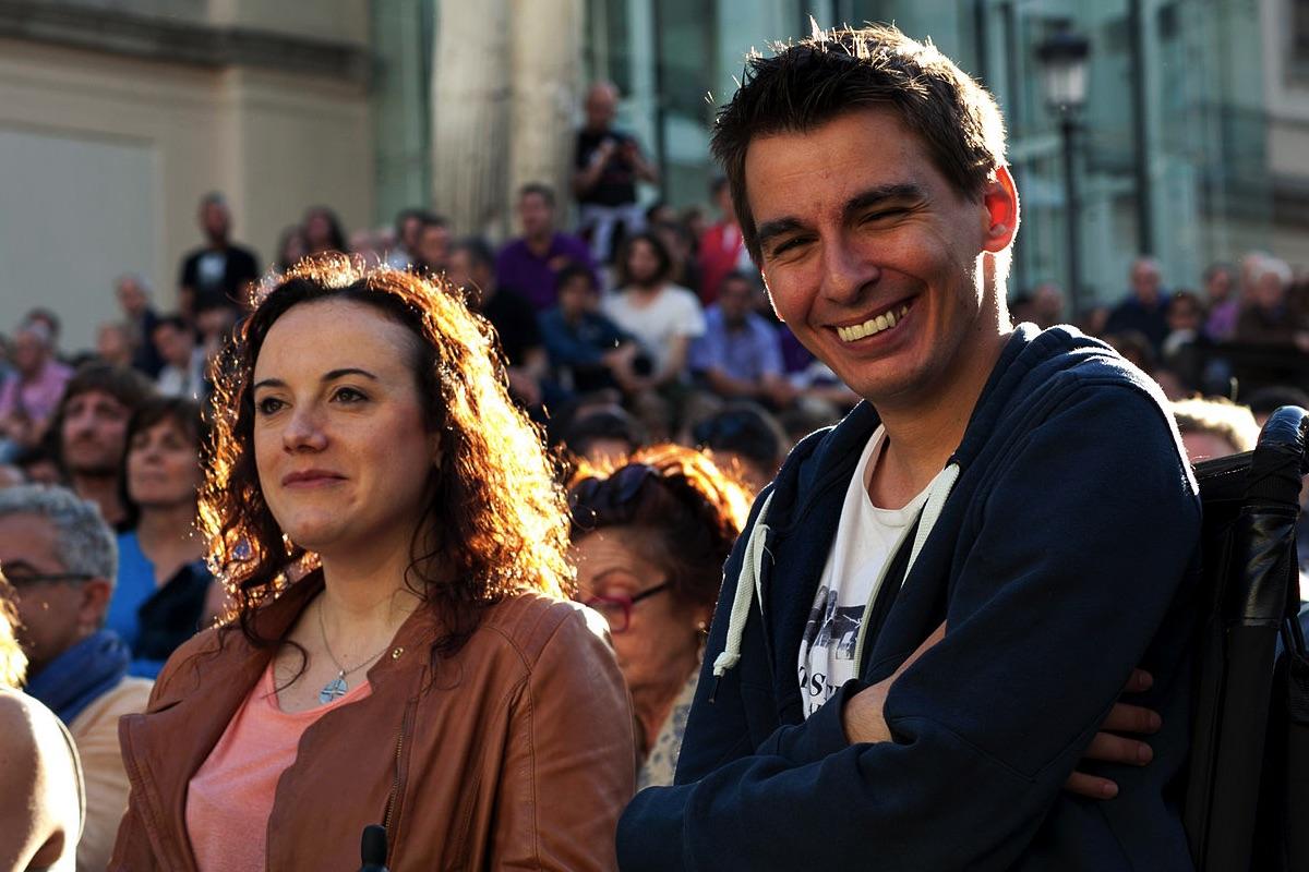 Pablo Soto en campaña electoral. (Foto: Wikimedia)