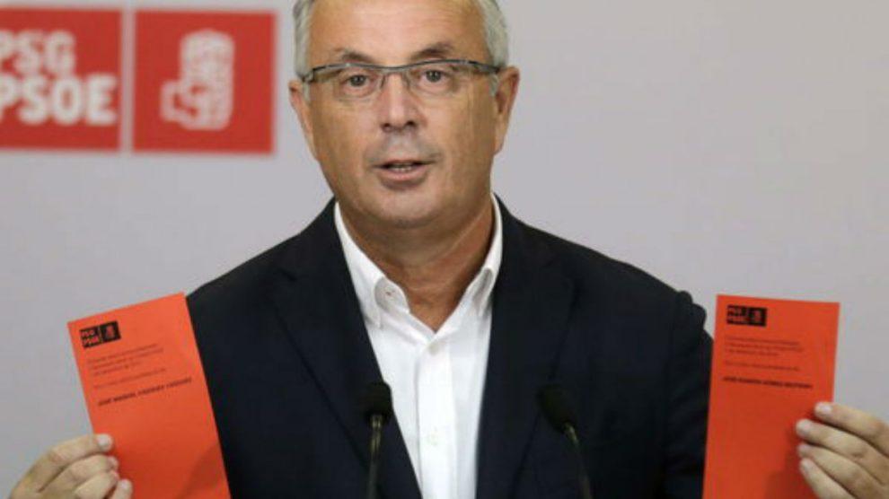 Pachi Vazquez, ex secretario general del PSOE gallego. (Foto: PSOE)