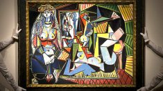 Les femmes d'Alger de Pablo Picasso, subastado en Christie's.