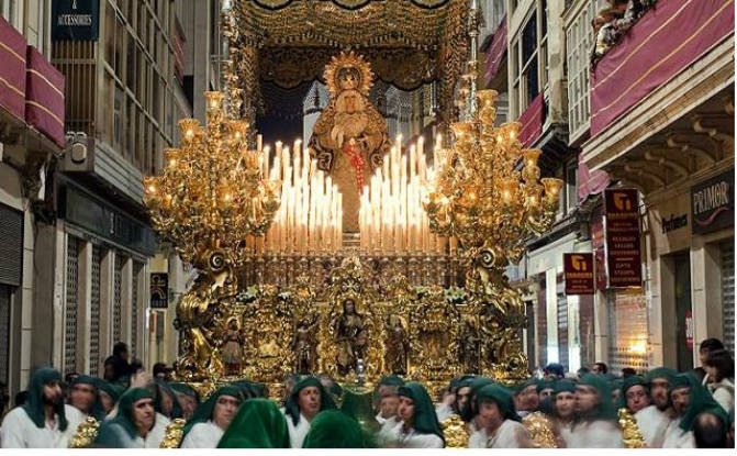Semana Santa Málaga 2016 Procesiones, itinerarios y horarios