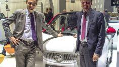 Abel Matutes y Reiner Hoeps presentaron el nuevo Smart Ushuaia edición limitada