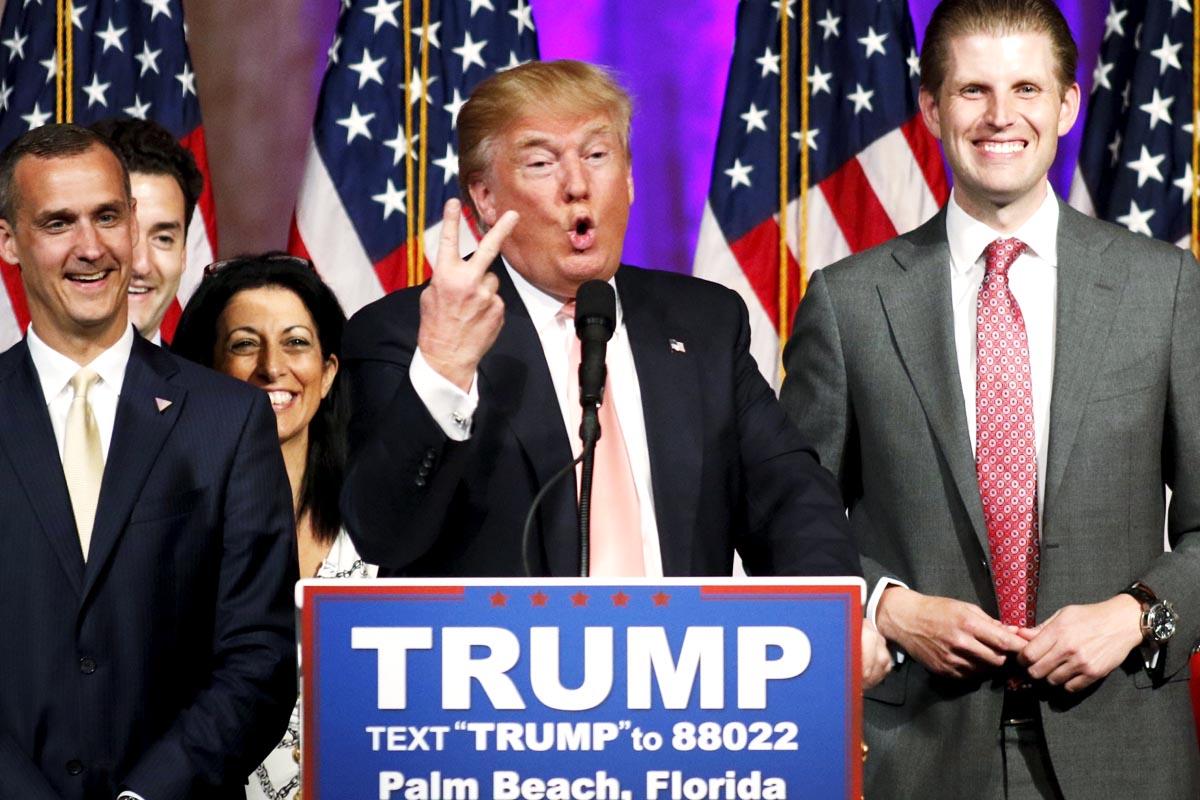 Donald Trump, candidato en las primarias republicanas (Foto: Reuters)