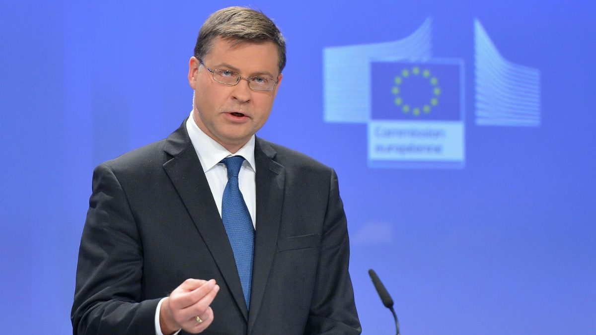 El vicepresidente de la Comisión Europea, Valdis Dombrovskis (Foto: GETTY).