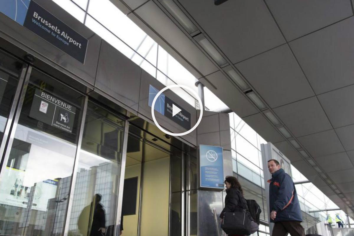 Imagen de archivo del aeropuerto de Zaventem en Bruselas, que hoy ha sufrido dos atentados. (Foto: EFE)