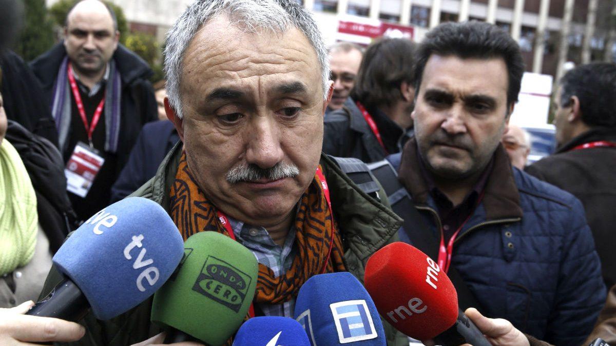El secretario general de UGT Josep Maria Álvarez (Foto: Efe).
