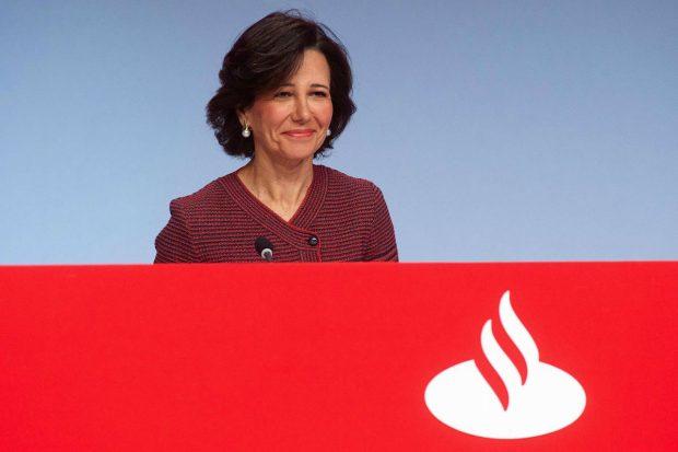 Banco Santander lidera las ganancias del Ibex