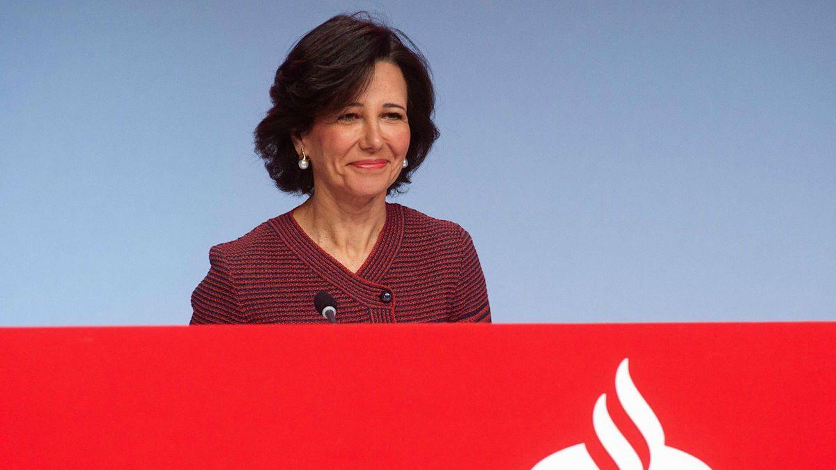 Ana Botín. (Foto: Santander)