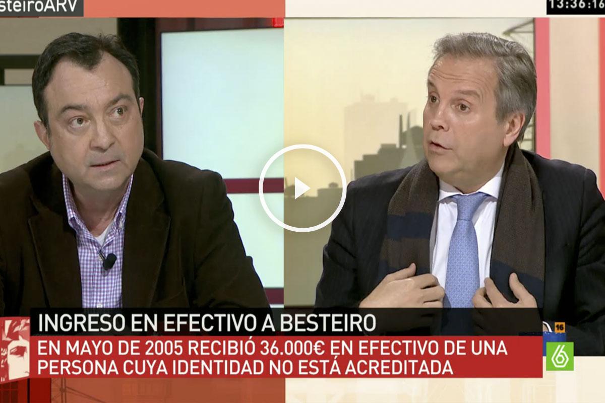 Manuel Cobo (i) y Antonio Miguel Carmona (d) en laSexta.