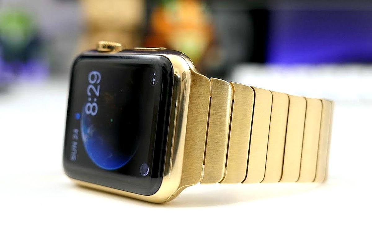 Edición de oro del Apple Watch.