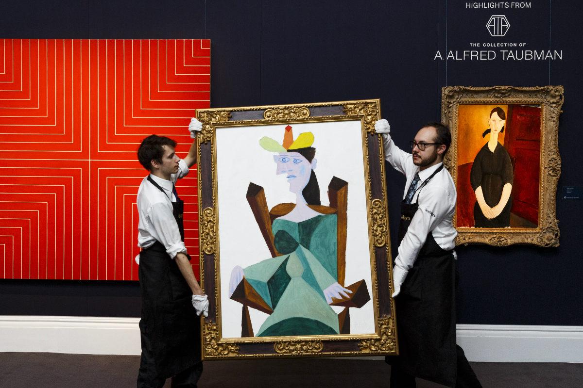 Las transacciones en el mercado del arte caen durante el 2015. (Foto: Getty)