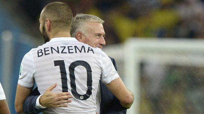 Didier-Deschamps-Karim-Benzema